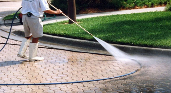 How We Clean Your Pavers - Seal My Pavers - Venice FL
